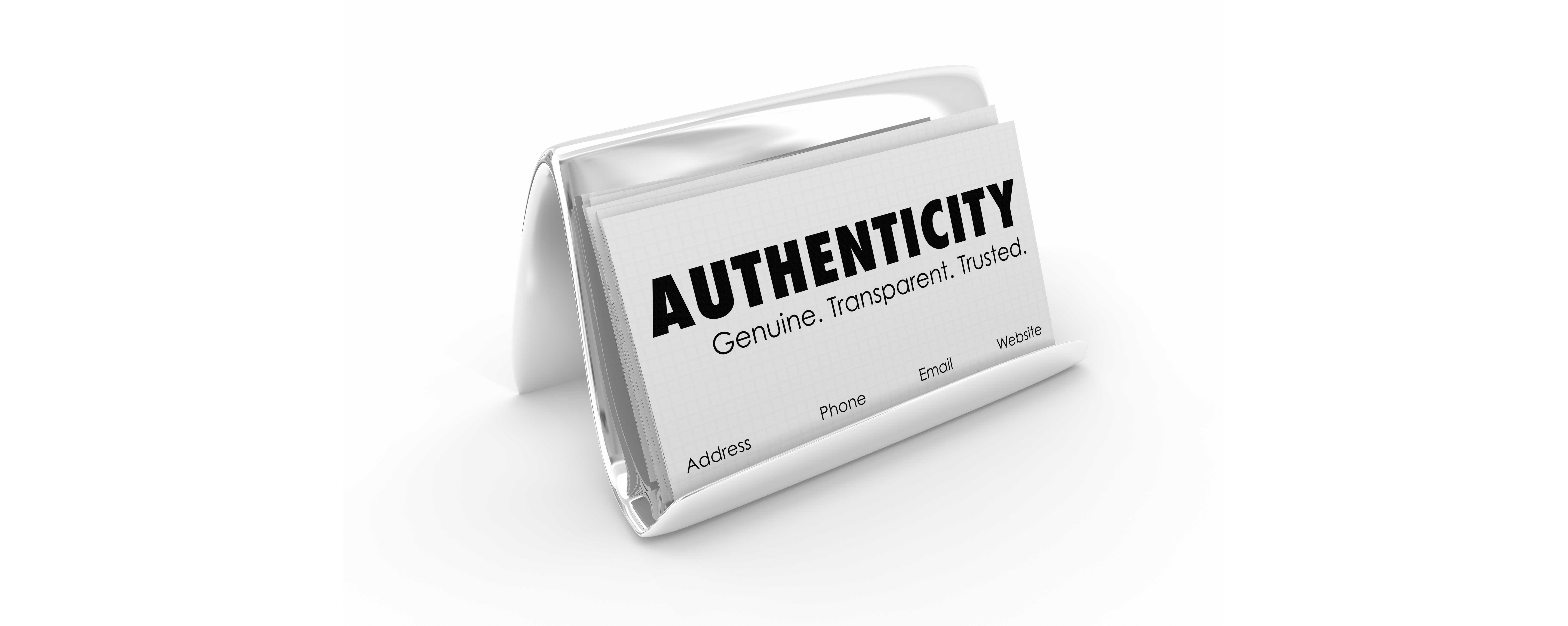 Authenticity build trust with your consumers