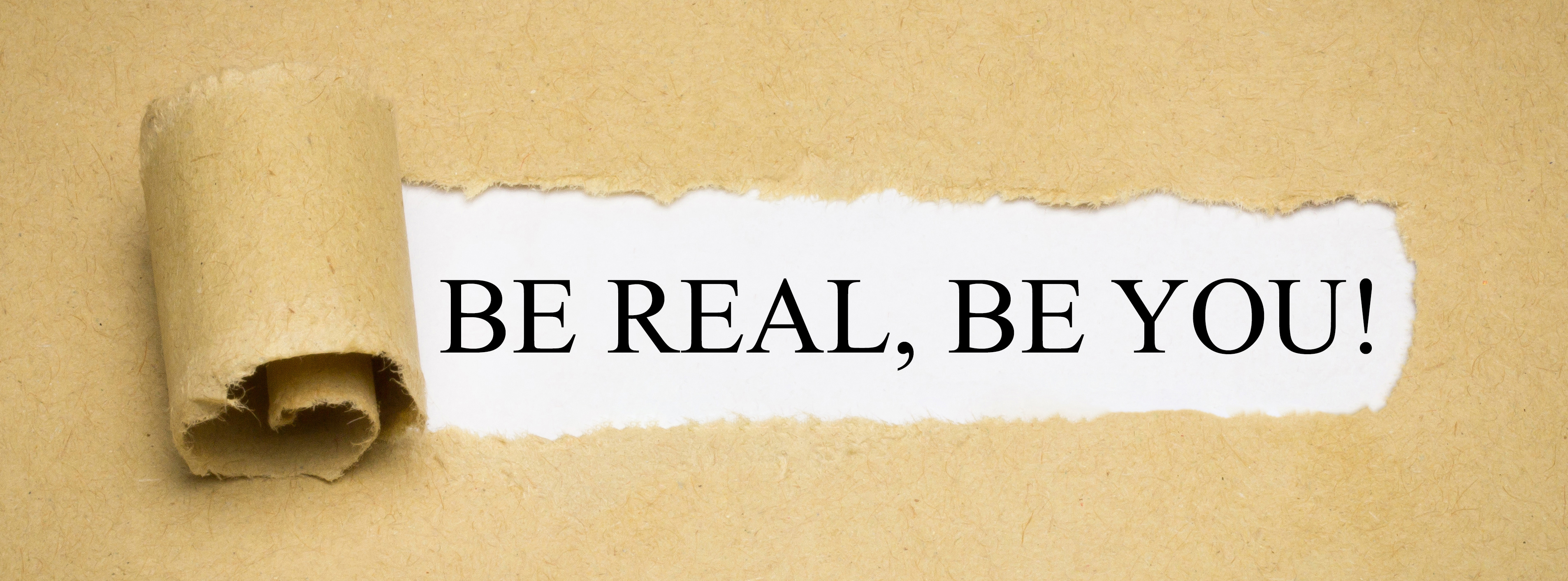 be authentic by being you