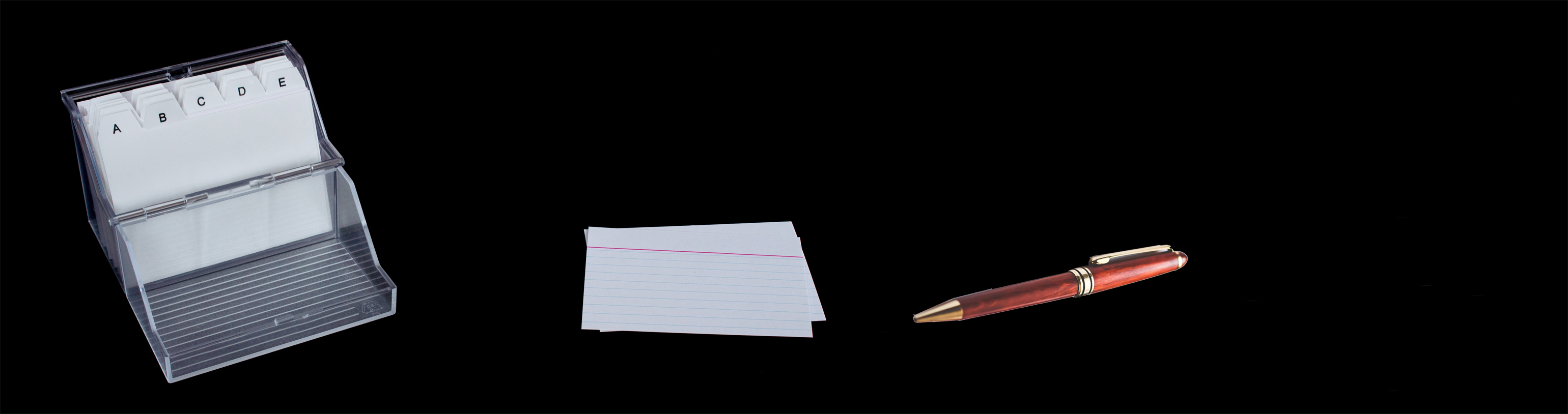 how index cards can help you to visualise