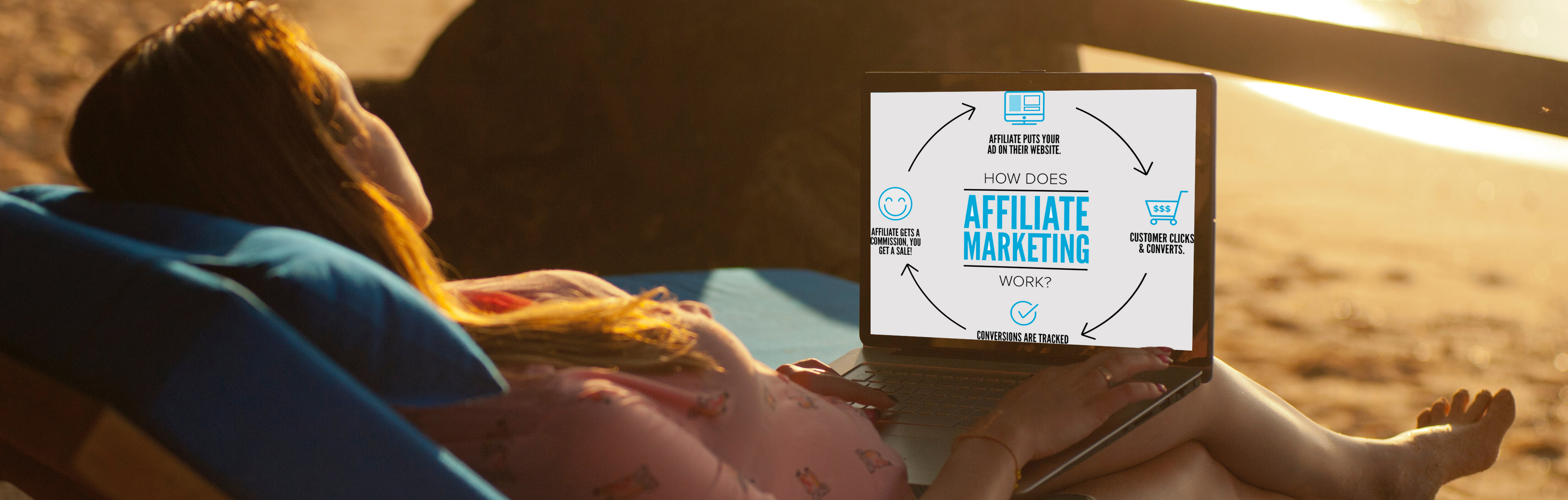 have the freedom to work from anywhere with affiliate marketing